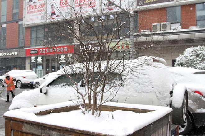 Ngắm tuyết rơi tuyệt đẹp ở Thường Châu trước trận chung kết U23 VN - U23 Uzbekistan - 6