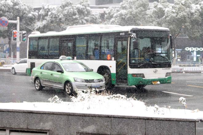 Ngắm tuyết rơi tuyệt đẹp ở Thường Châu trước trận chung kết U23 VN - U23 Uzbekistan - 12