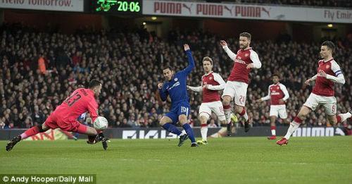 Chi tiết Arsenal - Chelsea: Nỗ lực trong vô vọng (KT) 20