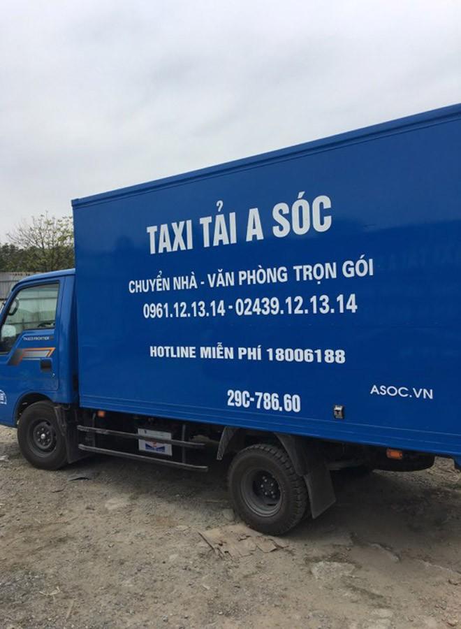 Hãng Taxi tải  A Sóc, giảm giá 50% ngày U23 VN đá chung kết - 3
