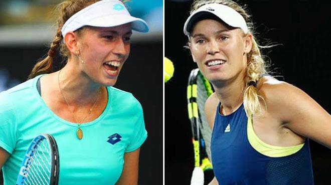 """Mertens - Wozniacki: Ra đòn đúng lúc, """"vé vàng"""" trao tay (BK Australian Open) 1"""