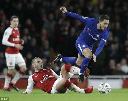 Chi tiết Arsenal - Chelsea: Nỗ lực trong vô vọng (KT) 24