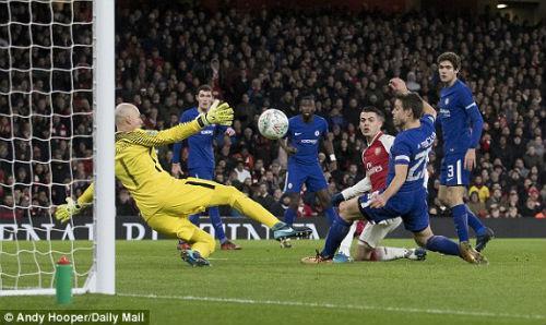 Chi tiết Arsenal - Chelsea: Nỗ lực trong vô vọng (KT) 23