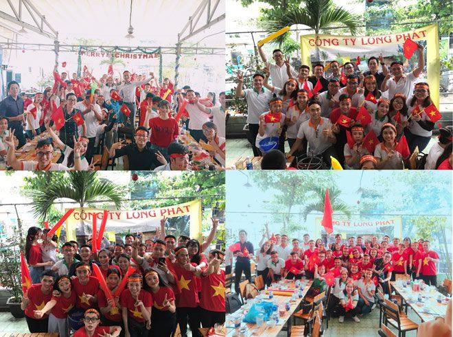 Địa ốc Long Phát vui cùng chiến thắng lịch sử của U23 Việt Nam - 2