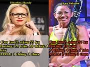 Thể thao - Xé toang lịch sử: 2 mỹ nữ đấu MMA - boxing, McGregor - Mayweather phải nể