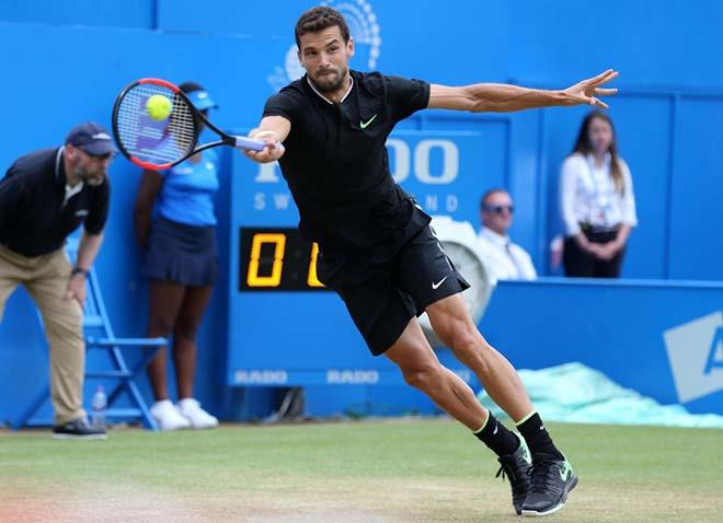 Tin HOT thể thao 27/1: Dimitrov hạ mục tiêu chinh phục Grand Slam 1