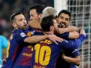 """Bóng đá - Barca thoát số phận Real: Trọng tài """"biếu"""" vé vào bán kết?"""