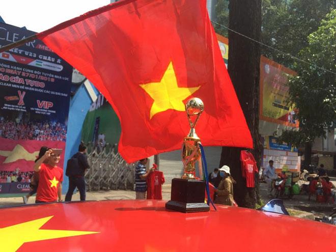Tuyết trắng trời Thường Châu, Việt Nam rực lửa cổ vũ U23 đá chung kết - 29