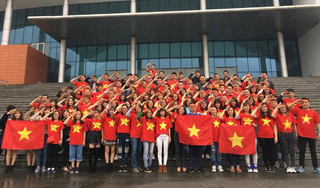 Tuyết trắng trời Thường Châu, Việt Nam rực lửa cổ vũ U23 đá chung kết - 28