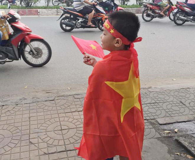 Tuyết trắng trời Thường Châu, Việt Nam rực lửa cổ vũ U23 đá chung kết - 18