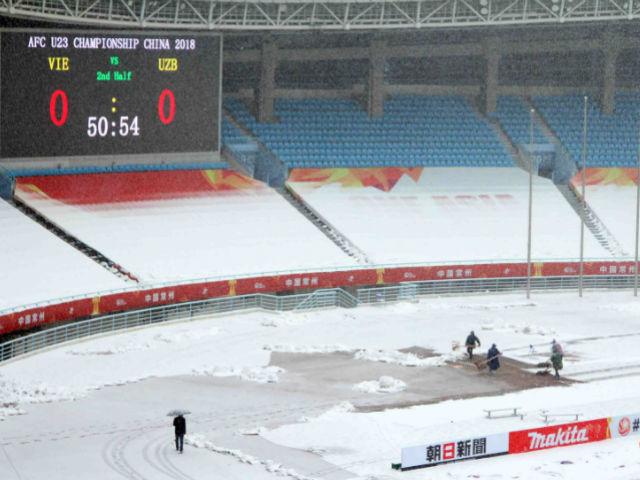 Trực tiếp mới nhất từ Thường Châu: AFC quyết định vẫn đá 15h, U23 VN đến sân - 10