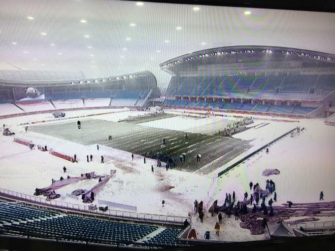 Trực tiếp mới nhất từ Thường Châu: AFC quyết định vẫn đá 15h, U23 VN đến sân - 1