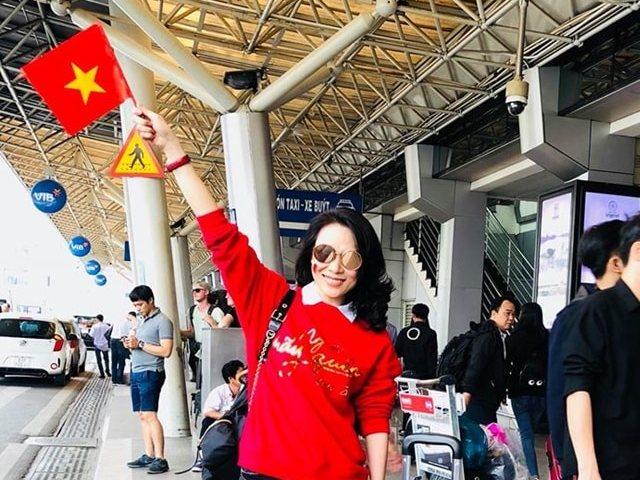Mỹ Tâm hát cùng U23 Việt Nam tại TP.HCM - 3