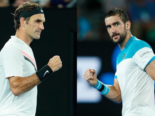 "Video hot Australian Open: Cilic chơi ""cầu lông"", Federer tím mặt 1"