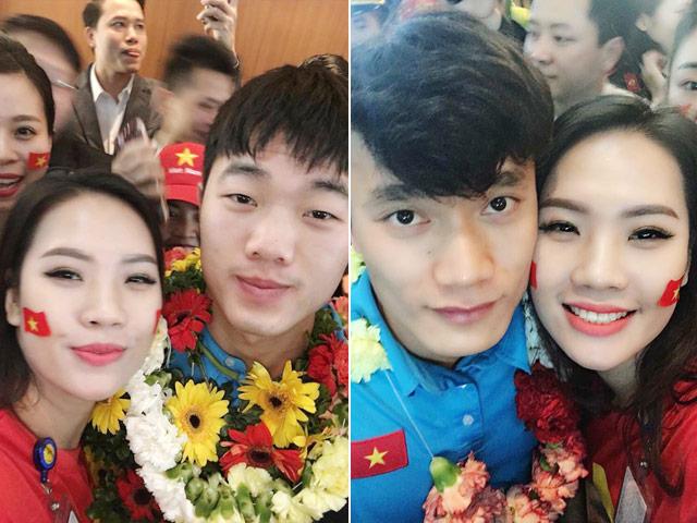 Bất ngờ về bạn gái đẹp như minh tinh của tiền vệ Huy Hùng - 12