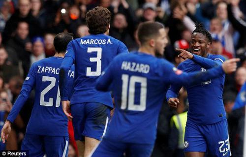 TRỰC TIẾP Chelsea - Newcastle: Bàn thắng quá may 22
