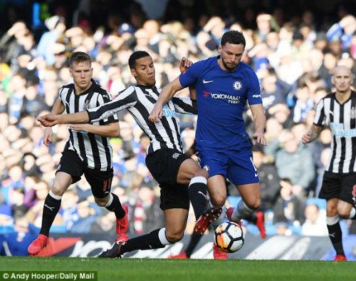 TRỰC TIẾP Chelsea - Newcastle: Bàn thắng quá may 21