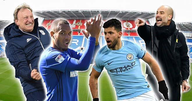 Cardiff - Man City: MU gọi, Man City trả lời 2