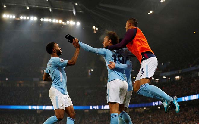 Cardiff - Man City: MU gọi, Man City trả lời 1