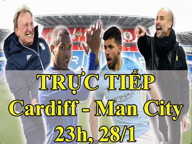 """Cardiff City - Man City: Đá phạt ma mãnh & """"trái đắng"""" cuối trận 2"""