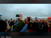 Công nghệ thông tin - Hình ảnh U23 Việt Nam về nước ngập tràn Facebook