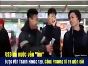 Bạn trẻ - Cuộc sống - Clip siêu dễ thương của Công Phượng và HLV Park Hang-seo