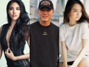 """Đời sống Showbiz - Đội trưởng U23 Việt Nam """"chết nhát"""" khi đứng cạnh mỹ nữ """"Em chưa 18"""", chân dài Lan Khuê"""