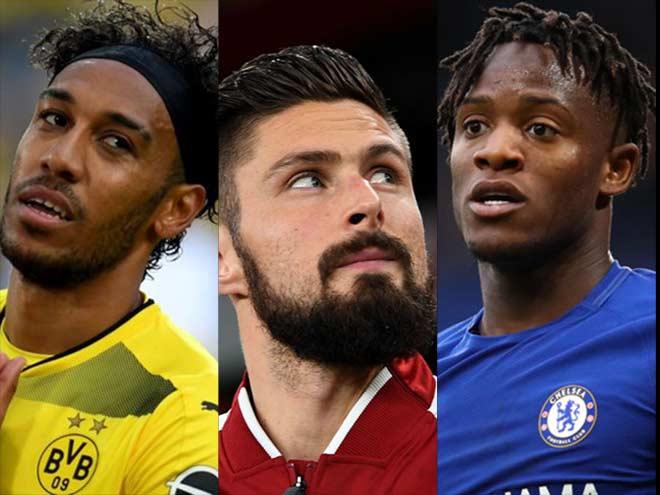 """""""Bom tấn tay ba"""" 120 triệu bảng: Arsenal, Dortmund & Chelsea đổi tiền đạo 1"""