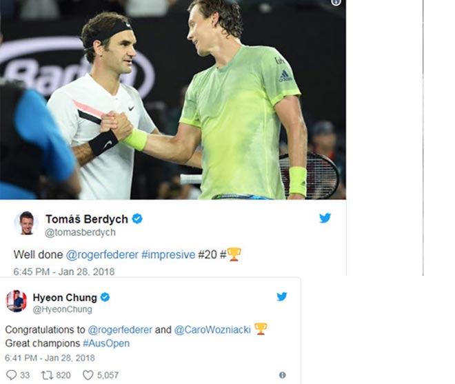 """Federer đoạt 20 Grand Slam: Vua 184 danh hiệu """"cúi đầu"""" nhường số 1 2"""