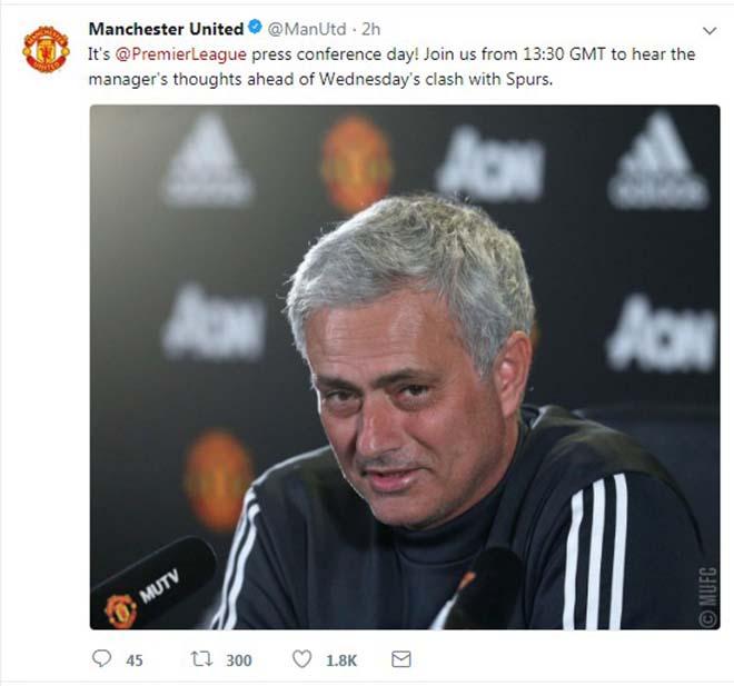 TRỰC TIẾP họp báo Tottenham - MU: Chờ Mourinho tiết lộ về Sanchez 1