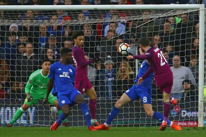 """Cardiff City - Man City: Đá phạt ma mãnh & """"trái đắng"""" cuối trận"""