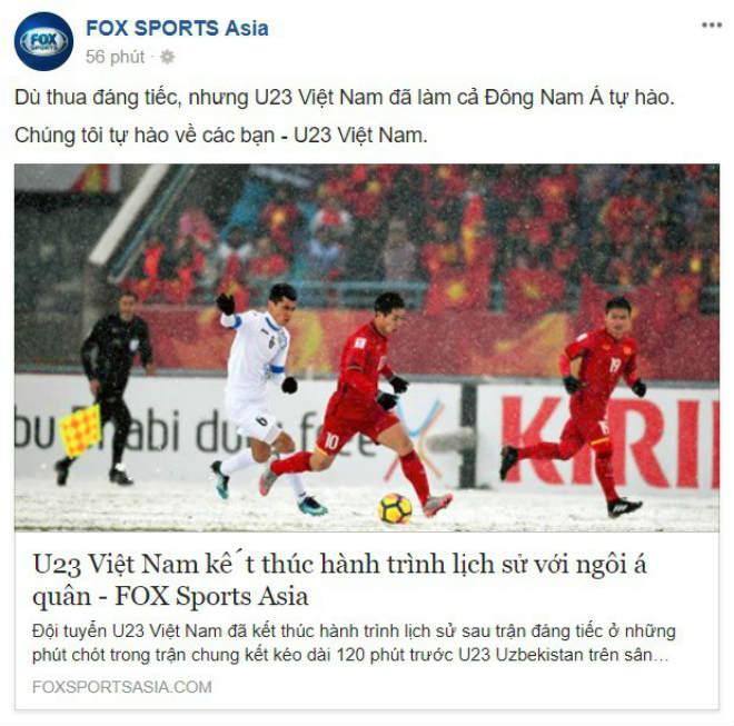 Vinh danh U23 Việt Nam: Báo quốc tế ngợi ca, coi là số 1 Đông Nam Á - 1