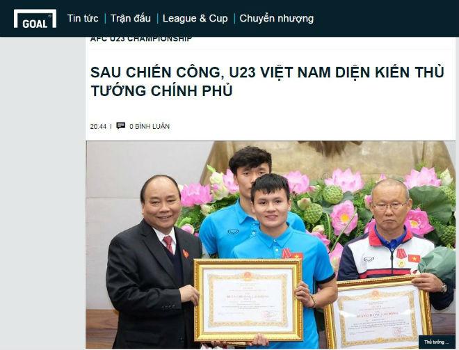Vinh danh U23 Việt Nam: Báo quốc tế ngợi ca, coi là số 1 Đông Nam Á - 7