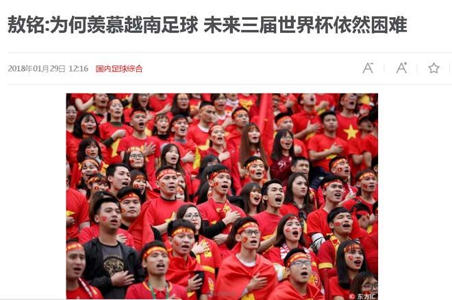 """U23 Việt Nam lập kỳ tích: Trung Quốc lo """"hít khói"""" Việt Nam ở World Cup - 1"""