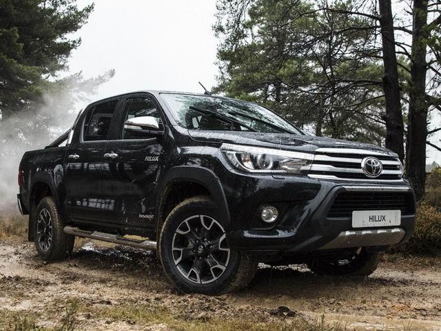 Toyota Hilux bản kỷ niệm 50 năm bóng bẩy