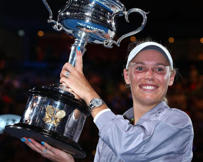 """Kiều nữ tennis """"không ngủ"""" 14 ngày: Vô địch Australian Open, lên số 1 thế giới 2"""