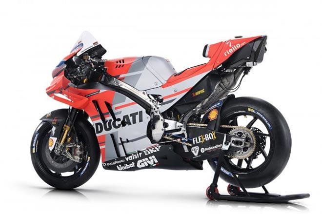 """Đua xe MotoGP: Đã mắt với """"Quái vật""""  trình làng sớm nhất của Ducati 1"""
