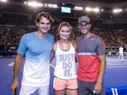 Thể thao - Tennis 24/7: Mỹ nhân mê mẩn Federer, ví với siêu anh hùng Ma trận