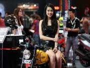 Thế giới xe - Ngắm người đẹp Á Đông mặn mà bên xế mới