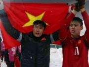 """Bóng đá - U23 Việt Nam """"hóa rồng"""": Mơ World Cup cùng Quang Hải, Xuân Trường"""