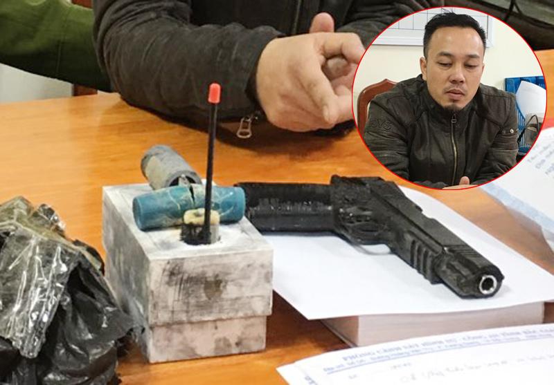 """Manh mối bất ngờ giúp cảnh sát """"vạch mặt"""" tên cướp dọa nổ bom ngân hàng - 1"""