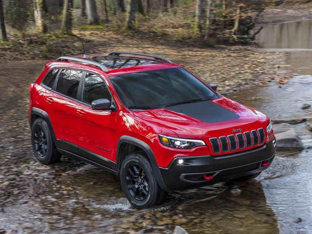 SUV cơ bắp Jeep Cherokee 2019 có giá từ 572 triệu đồng