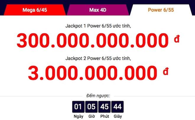 Vietlott thông tin chính thức vụ jackpot 1 lần đầu vượt 300 tỉ - 2