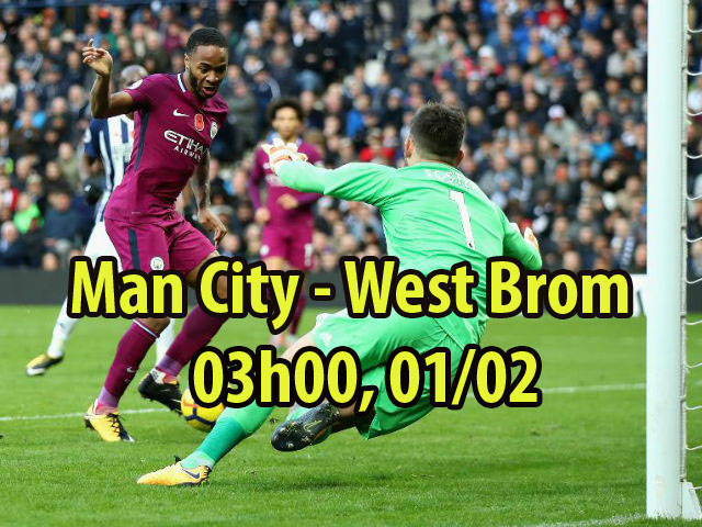 Chi tiết Man City - West Brom: Aguero chốt hạ mượt mà (KT) 23