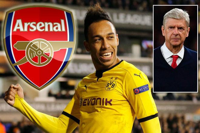 """Arsenal rung chuyển """"bom tấn"""": Aubameyang cập bến Emirates 64 triệu euro - 3"""