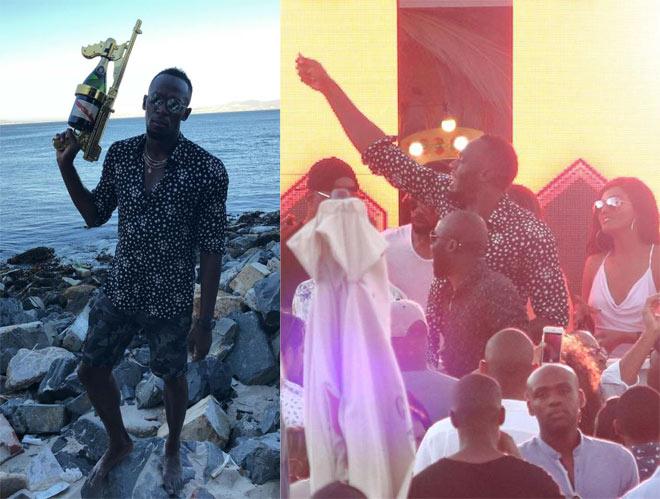 U.Bolt ngày đá bóng, tối đàn đúm rượu, người đẹp: Sao đá cho MU? - 2