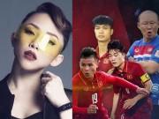 """Ca nhạc - MTV - Tóc Tiên """"trách khéo"""" U23 Việt Nam quá hot khiến nghệ sĩ Việt lao đao"""