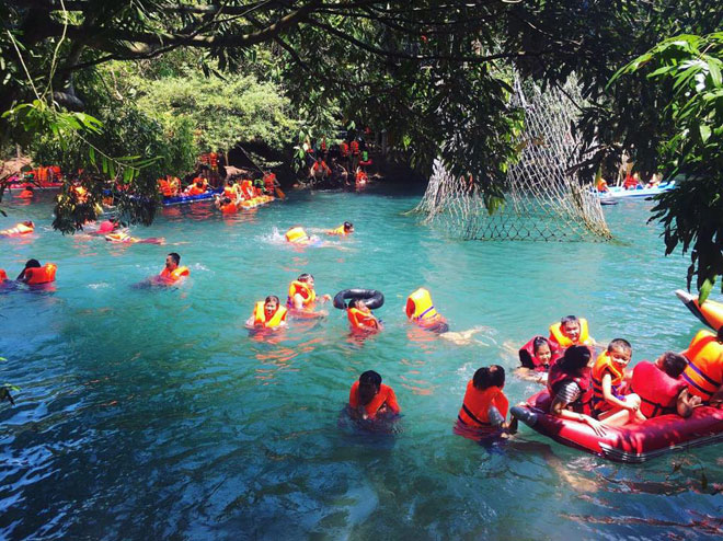 """Ở Quảng Bình cũng có """"Cửu Trại Câu"""" đẹp đến thế - 6"""