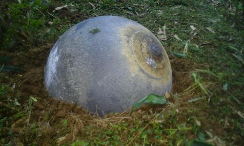 Quả cầu lạ giống ở Tuyên Quang mới rơi xuống Peru - 2
