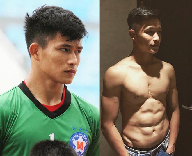 Thủ môn 6 múi SHB Đà Nẵng tiết lộ thực tế tập hình thể của cầu thủ